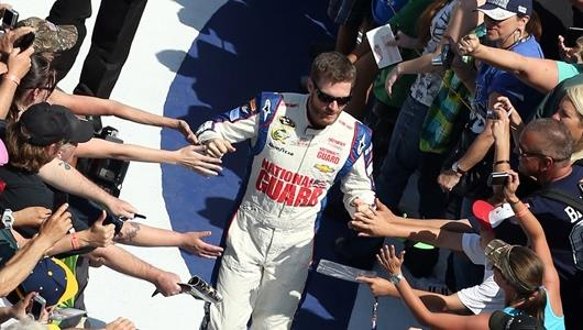 Hot Tempers Steal Spotlight From Steady Points Leader Earnhardt