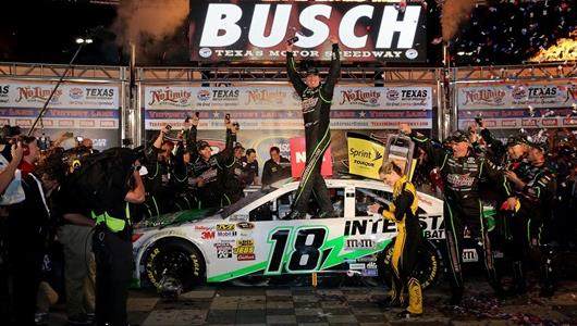 Kyle Busch Blends New Maturity, Constant Talent Into NASCAR Hot Streak