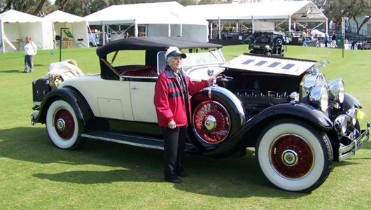 102-Year-Old Woman To Display Prized 1930 Packard In May At IMS