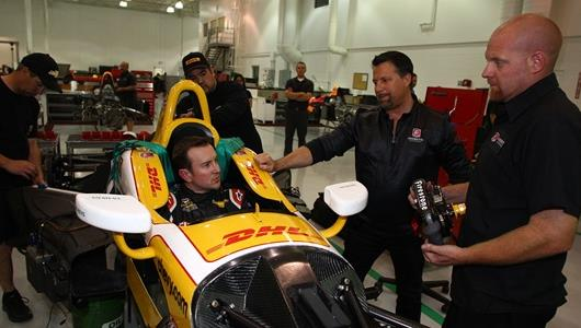 The Last Time Kurt Busch Tested An INDYCAR