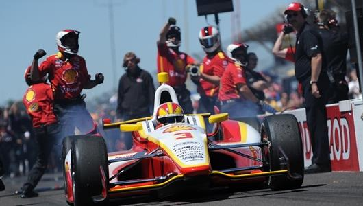 Penske, Castroneves Extend Pit Stop Challenge Dominance