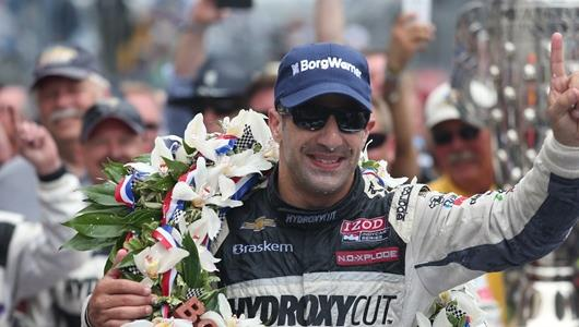 97th Indianapolis 500 Race Day Press Conference - Tony Kanaan, Jimmy Vasser