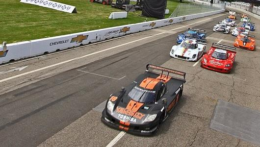 Sprint To Bricks Starts With Tight Action In Detroit GRAND-AM Races
