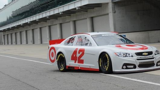 NASCAR Teammates Montoya, McMurray Test New Gen-6 Car At IMS