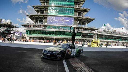 Dominant Kyle Busch Wins Indiana 250; Newman Captures '400' Pole