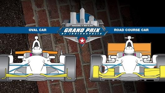 2014 Grand Prix of Indianapolis 101: Oval vs Road Course Configurations