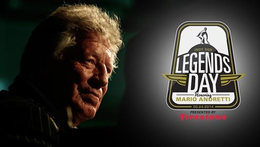 Legendary '500' Winner Andretti to be Honored May 24 at IMS