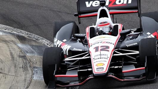 Power Sweeps to Top of Time Chart in Barber Open Test