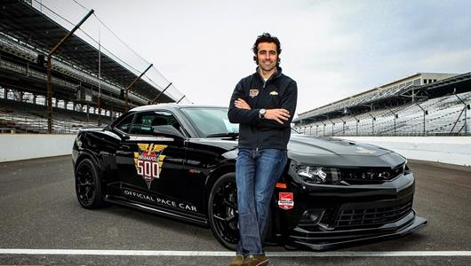 Franchitti to Drive Camaro Z/28 Indy 500 Pace Car