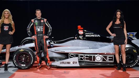 Andretti Unveils Busch's Car For Indianapolis 500