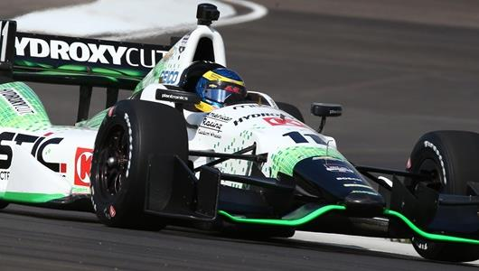 Bourdais tops the initial session on Indy course