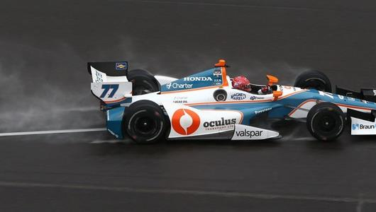 Pagenaud Tops Wet Practice Session Ahead of Qualifying