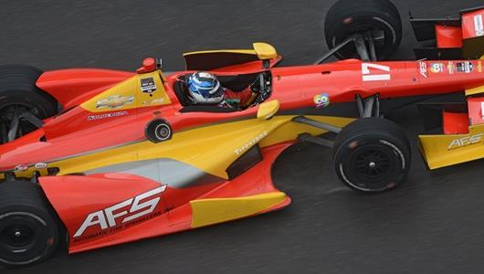 Saavedra Claims Pole For Inaugural Grand Prix of Indianapolis