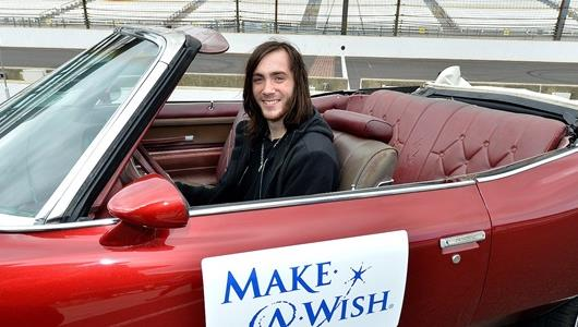 Make-A-Wish, IMS Combine To Create Unforgettable Moment For Teenager