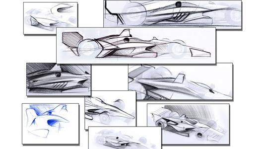 2018 IndyCar Concept Art