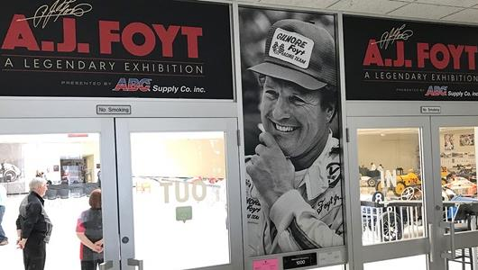 A.J. Foyt - A Legendary Exhibition