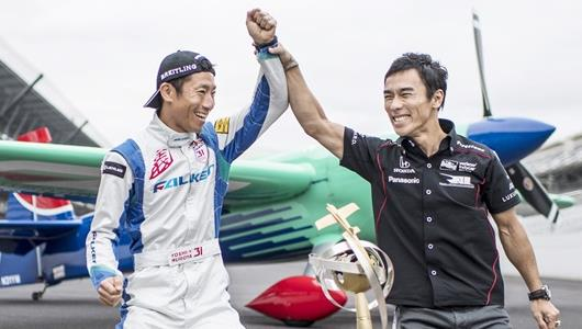 Yoshi Muroya and Takuma Sato