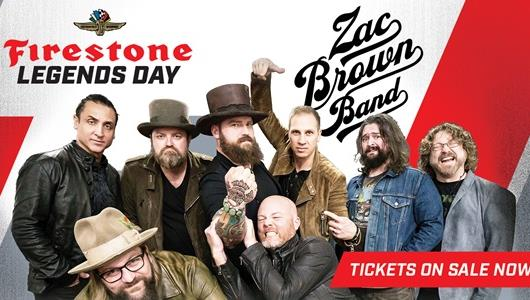 Firestone Legends Day Concert featuring Zac Brown Band