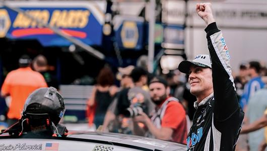 Harvick wins 2019 Brickyard 400