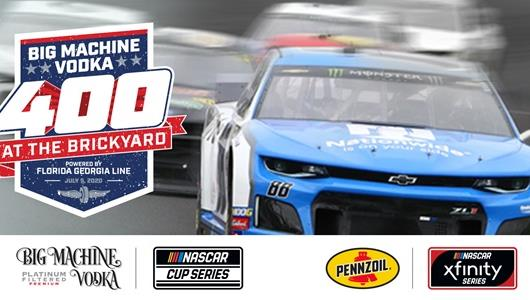 2020 Big Machine Vodka 400 at the Brickyard Powered by Florida Georgia Line