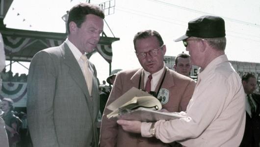 Hulman, Shaw, Horan 1953