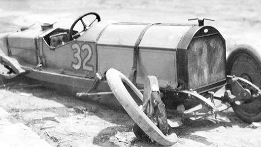 Marmon Wasp's Date with Destiny Salvaged after Hard Crash in 1910