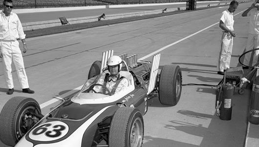 Mysterious Maserati Uncovered 50 Years after Indy 500 Rookie Test by Al Unser