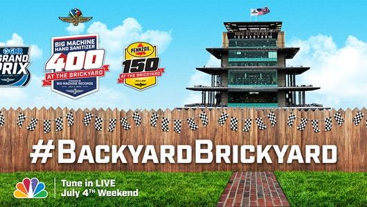 Fans Can Show Racing Spirit on July 4th Weekend through #BackyardBrickyard