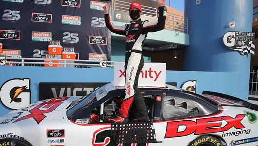 Successful Rookie Xfinity Season Quieting Doubters of Teenager Burton