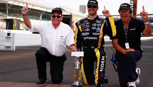 Menard Finally Opened Victory Lane at Indy for Family with Magical Brickyard Win