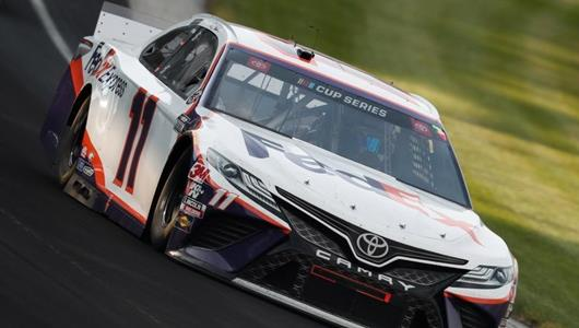 Hamlin Copes with More Brickyard Heartbreak after Late Crash Ends Win Hopes