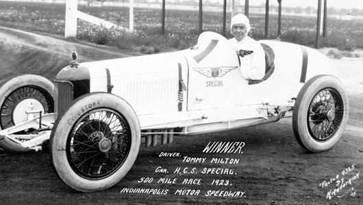 Two Indy 500 Wins Launched Milton into Sports Stardom in Roaring 20s