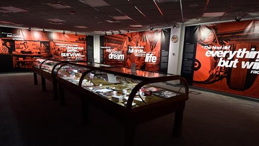 New IMS Museum Exhibit Honors Large '500' Legacy of Colorful Legend Andy Granatelli