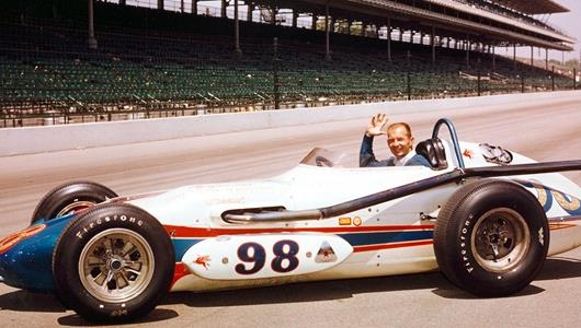 Legendary Parnelli Celebrates 87th Birthday by Waving Virtual Green Flag at Indy