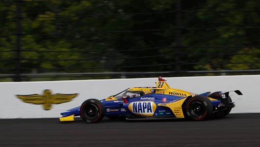 Andretti Autosport Jumps from Starting Gate with Speed at Indy