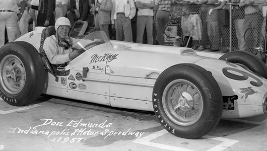 1957 Indianapolis 500 Rookie of the Year Edmunds Dies at 89