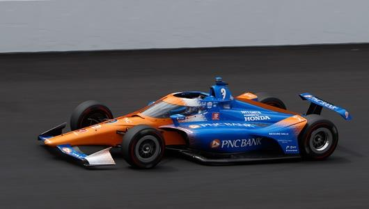 Dixon Climbs to Top of Speed Chart as 'Fast Friday' Looms Large at Indy