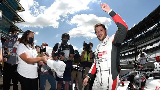 Andretti Scores First Indianapolis 500 Pole for Fast Family since 1987
