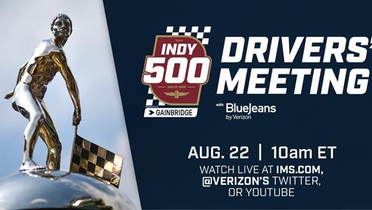 Fans Can Watch Indy 500 Drivers' Meeting Saturday at IMS.com