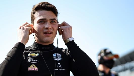 O'Ward Named Indianapolis 500 Rookie of the Year
