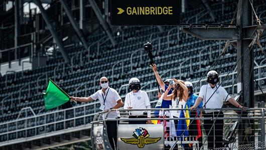 Waving Green Flag To Start Indy 500 Provides Massive Thrill for Gainbridge CEO