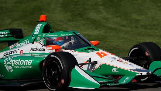 Herta Riding Wave of Momentum Entering INDYCAR Harvest GP at IMS