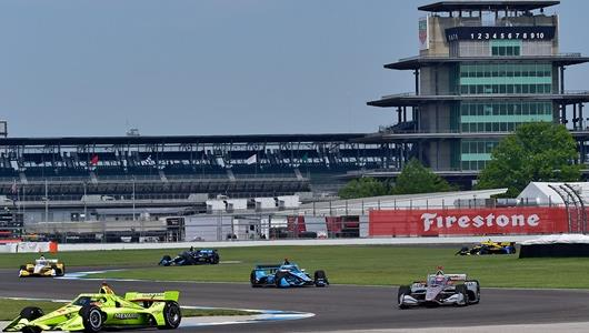 Pagenaud, Power Always in the Groove at Friendly IMS Road Course