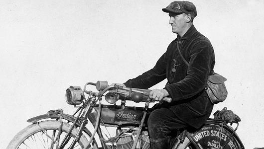'Cannon Ball' Baker Set Records on Two and Four Wheels in Early Days