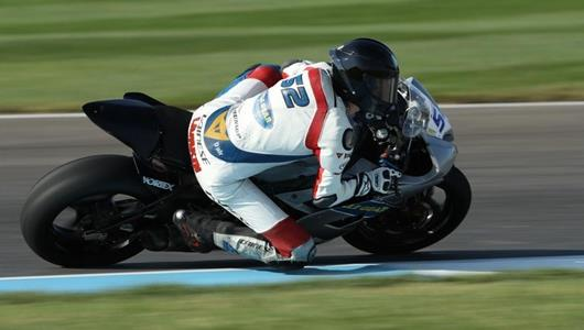 Dedicated Indianapolis Rider Fulfills Big Goal by Racing across Yard of Bricks at IMS