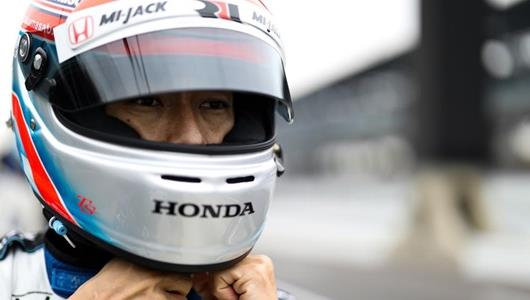 Sato back at IMS, where he's getting better with age