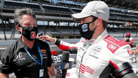 Marco Andretti Wins Indianapolis 500 Pole