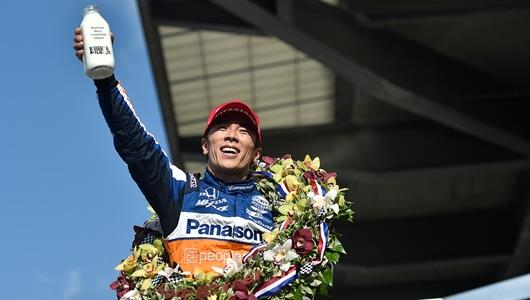 Sato Wins Indy 500 for Second Time
