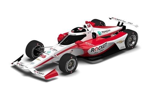 Rocket Pro TPO To Sponsor De Silvestro, Paretta at Indy