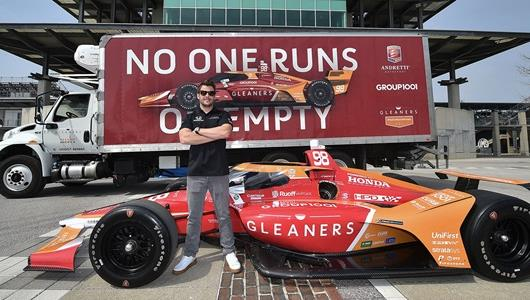 Gleaners Food Bank, Marco Andretti Team Up at 105th Indy 500
